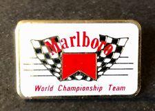 "Marlboro Racing Pin ""World Championship Team"" Roger Penske Indycar Formula 1"
