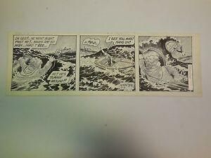 Original Daily Comic Strip Art    Leonard Starr    1984