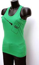 T-shirt débardeur vert NIKE Taille M Neuf