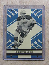 11-12 OPC O-PEE-CHEE Retro Blank Back KEVIN SHATTENKIRK RARE
