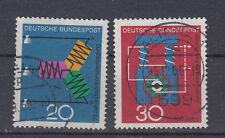 BRD Briefmarken 1966 Wissenschft und Technik Mi.Nr.521+522 gestempelt