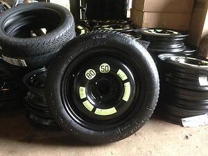 Citroen DS4/DS5/C4 Space Saver Wheel + Tyre + Bolts + New Jack Wheel Spanner