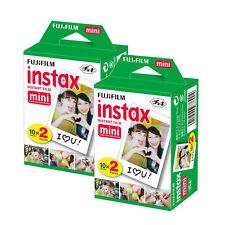 Fuji Instax Mini Film for Fujifilm Mini 8, 9 & Mini 90, 50 Cameras (40 shots)