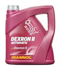 MANNOL 4L GM Dexron II 2 Automatic Transmission Fluid AQM Power Steering Fluid