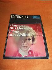 DDR Werbung Reklame präzis Pentacon ORWO Kamera Film Revue Prospekt Katalog 1968