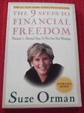 THE 9 STEPS TO FINANCIAL FREEDOM ~ Suze Orman ~ AUSTRALIAN EDITION ~ nine