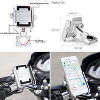Aluminium Bike Motorrad Lenker 360 ° drehbare Halterung für 4 '' - 6 '' Telefon