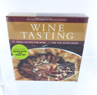 MusicCooks Wine Tasting Recipes Box Set with Music CD, Tim Ware Band, Gift Idea!