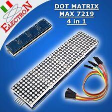 MAX7219 8x8 Dot Matrix Module 4 in 1 Display Microcontroller For Arduino