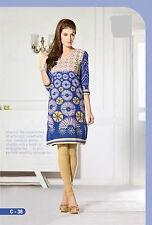 Indian cotton Kurta Kurti Designer Women Ethnic Dress 2xl Top Tunic Pakistani