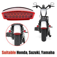 21LED Motorcycle Bike Rear Brake Stop License Plate Integrated Tail Light Emark
