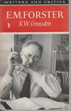 BIOGRAPHY , E M FORSTER by K W GRANSDEN