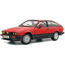 Alfa Romeo Alfetta Gtv 6 1984 Red SOLIDO 1:18 SL1802301