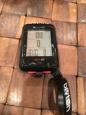 Bryton Rider Aero 60E GPS Cycle Computer ANT+ 78 functions and exceptional APP