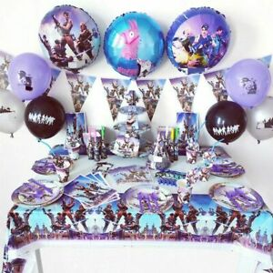 Gaming Video Controller Party Birthday Supplies Decoration Fortnit Battle Game