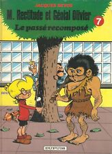 """bd génial olivier 7 """"le passé recomposé"""" (cartonné de 1985) jacques devos"""