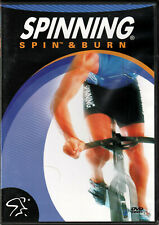 SPINNING Spin & Burn a DVD Indoor CYCLE Workout BIKE Series VIDEO of WEIGHT LOSS