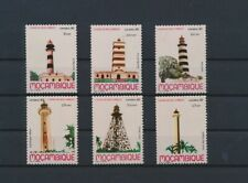 LM61841 Mozambique lighthouses buildings fine lot MNH