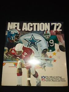 1972 Sunoco NFL Football Deluxe Stamp Album Still Factory Sealed