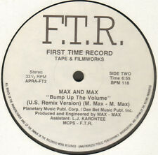 Various - Italians Do It Better / Bump Up The Volume 1988 F.T.R. APRA-FT3 Ita