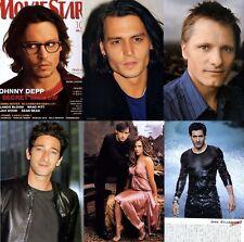 Moviestar Johnny Depp,Adrien Brody,Hugh Jackman