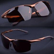 Classic Sunglasses Men 's polarized Sunglasses Aluminum Magnesium Eyewear UV400