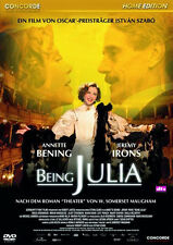 $ DVD  * BEING JULIA  -  Annette Bening , Jeremy Irons # NEU OVP