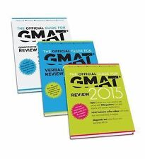 The Official Guide for GMAT Review 2015 Bundle [Official Guide + Verbal Guide +
