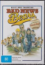BAD NEWS BEARS - BILLY BOB THORNTON - GREG KINNEAR - DVD - NEW -