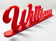 Personalised Standing Acrylic Name Signs Plaque Home Desk Party Family