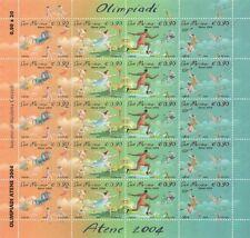 2004 Atene, giochi olimpici estivi - San Marino - MF