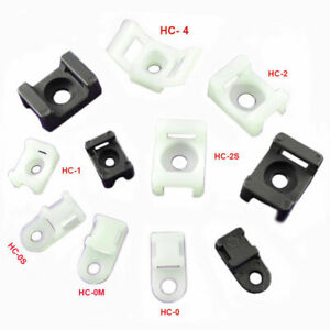 Cable Ties Cradle Cable Tie Base Zip Tie Wrap Saddle Clip Holder Clamp Wires