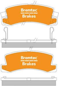 ULTRA BRAKE PADS SET FOR TOYOTA CAMRY 93-97