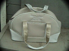 pebble beach NCGA Invitational 2008 beige nike athlethic/travel pro golf bag 19