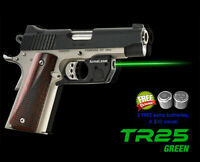 Arma Laser TR25G Green Laser Sight for Compact Springfield & Kimber 1911