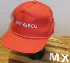 VINTAGE AIRCO TRUCKERS STYLE SNAPBACK HAT RED IN EXCELELNT CONDITION