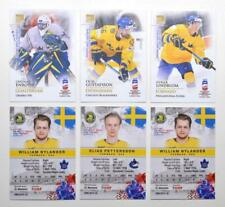2019 BY cards IIHF World Championship Team Sweden Pick a Player Card