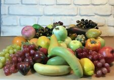 Realistic Artificial Fruit and Vegetables for Display - 37 pieces