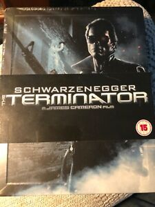 The Terminator Blu Ray Steelbook - Extremely Rare and Out Of Print