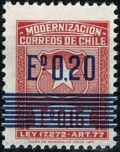 CHILI 1972 MODERNISATION POSTAL   YT n° 390 Neuf ★★ luxe / MNH