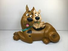 Rare 2000 Hanna Barbera Scooby Doo And Scrappy Coin Piggy Bank