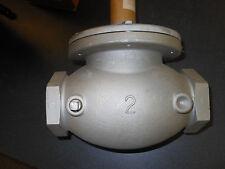 "HONEYWELL V5034A1034  2"" NPT  Gas Shutoff Valve Body for V4034 Actuator"