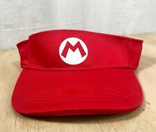 Yogurtland Nintendo Super Mario Bros Mario & Luigi 10th Anniversary Visor Hat