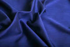 "SATIN BACKED FAUX DUPION RAW SILK 100% POLYESTER FABRIC 44"" M299"