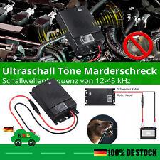 Marderschutz Ultraschall Töne Marderabwehr Marderschreck Marderscheuche Auto KFZ