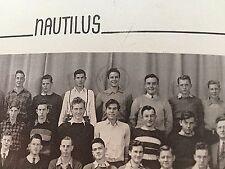 1941 MARLON BRANDO VERY RARE HIGH SCHOOL YEARBOOK (JUNIOR YEAR)!!!