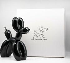 Black balloon dog - (limited /999-Mint condit + COA) - not banksy no kaws koons