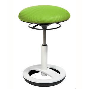 Bürohocker Drehstuhl Schreibtischhocker Topstar Sitness Bob grün weiß B-Ware