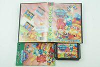 Wonder Boy III 3 Monster Lair Genesis Sega Megadrive Box From Japan