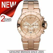 Michael Kors Ladies Dylan Rose Gold Dial Chronograph Designer Watch MK5314